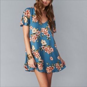 Show Me Your Mumu-Prairie Petal HTF Mini Dress